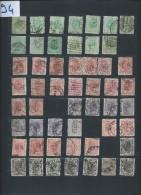 Perforés - Détaillons Importante Collection Du Monde - A Bien étudier - Pour Spécialistes - Lot 7194 - Perforés