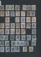 Perforés - Détaillons Importante Collection Du Monde - A Bien étudier - Pour Spécialistes - Lot 7195 - Perforés