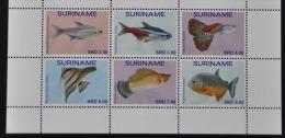 REP. SURINAME 2015 VISSEN FISHES POISSON MNH **