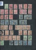 Perforés - Détaillons Importante Collection Du Monde - A Bien étudier - Pour Spécialistes - Lot 7198 - Perforés