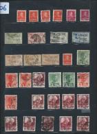Perforés - Détaillons Importante Collection Du Monde - A Bien étudier - Pour Spécialistes - Lot 7206 - Perforés