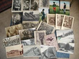 Lot De 130 Cartes Postales , Theme  Guerre , Militaria , Voir Les Scans - 100 - 499 Cartes
