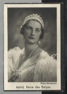 -*ASTRID, Reine Des Belges °Stockholm 17-11-1905/+ Küssnacht 29-08-1935.= Franse  Versie . - Religion & Esotericism