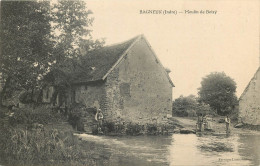 36 -BAGNEUX - Moulin De Boizy -superbe - Voir Scans  Recto Verso - Autres Communes