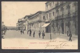 6950-TARANTO-CORSO DUE MARI-ANIMATA-FP - Taranto