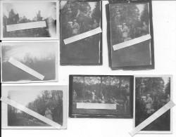 Saint Léger En Yvelines 03/10/1918 Manoeuvres Au Clos Renard 7 Photos 14-18 1914-1918 Ww1 Wk1 - War, Military