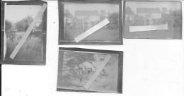 10/10/1918 école De Cavalerie Manoeuvres Dans Le Parc Du Château De Rambouillet 4 Photos 14-18 1914-1918 Ww1 Wk1 - War, Military