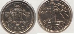 Barbados 5 Cents 2006 Km#11 - Used - Barbados