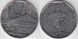 Cuba 1 Peso 1994 Km#579.2 - Used - Cuba