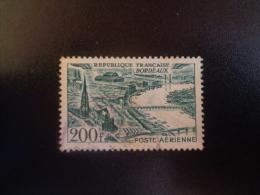 France 1949 Poste Aérienne N°PA25 Oblitéré Bordeaux - Luftpost