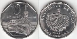 Cuba 10 Centavos 1999 KM#576.2 - Used - Cuba