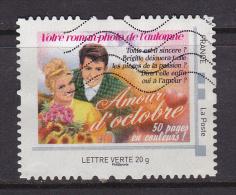 FRANCE COLLECTOR Calendrier OCTOBRE Roman Photo De L'année Montimbramoi Oblitéré - France