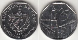 Cuba 25 Centavos 1994 KM#577.1 - Used - Cuba