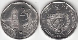 Cuba 25 Centavos 1998 KM#577.2 - Used - Cuba