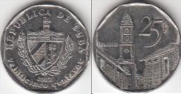 Cuba 25 Centavos 2002 KM#577.2 - Used - Cuba