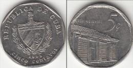 CUBA 5 Centavos 1999 KM#575.2 - Used - Cuba
