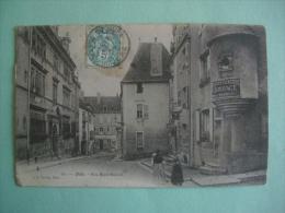 DOLE RUE MONT ROLAND 1905 はがき 明信片 Maps Postcard Postkarte Cartolina Postal - Dole