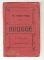 BRUGES - BRUGGE  Pochette 12 Vues Colorisées - Brugge
