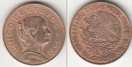 Messico 5 Centavos 1972 Km#427 - Used - Mexico