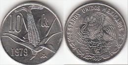 Messico 10 Centavos 1979 Km#434.1 - Used - Mexico