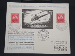 BELGIQUE-Enveloppe Par Hélicoptère Belgique /Hollande En 1947    à Voir P7193 - Belgium