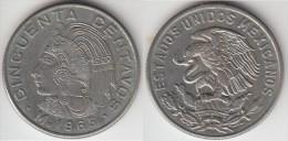 Messico 50 Centavos 1965 Km#451 - Used - Messico