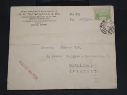 JAPON-Enveloppe De Osaka Pour Paris En 1937 Via Siberie    à Voir P7197 - 1926-89 Empereur Hirohito (Ere Showa)