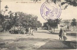 AIN SEFRA. AVENUE DE LA GARE - Other Cities