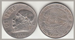 Messico 1 Peso 1970 KM#470 - Used - Messico