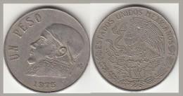Messico 1 Peso 1975 KM#470 - Used - Messico