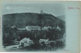 Carte Postale Ancienne D´AUTRICHE - BADEN BEI WIEN - WEILBURG - Baden Bei Wien