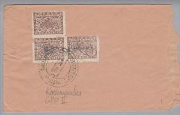 Nepal Kathmandu GPO II 1961? Brief Mit 3x 2P. - Népal