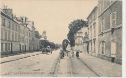 SAINT GERMAIN EN LAYE  Rue De Poissy Animée, Attelage - St. Germain En Laye