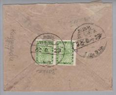 Nepal 1941 Kathmandu Mit 4 P. Grün Paar - Népal