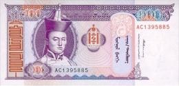 Mongolia 100 Tugrik 1993 Pick 57 UNC - Mongolia