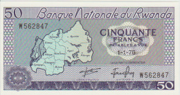 Rwanda 50 Francs 1976 Pick 7c UNC - Rwanda