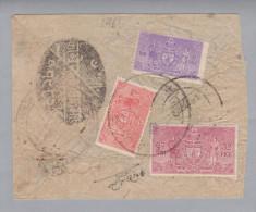 Nepal 1961 Brief Mit Dienstmarken - Népal
