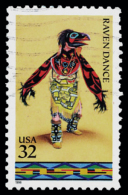 Etats-Unis / United States (Scott No.3075 - Danses Amerindiennes / Indian Dances) (o) - Vereinigte Staaten