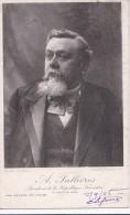 Carte 1905 A . Fallières ,président De La République Française :nos Hommes Politiques - People