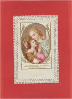 Image Religieuse - Canivet - Holycard - Santino - 6,8 Cm  X  11,2 Cm - Images Religieuses