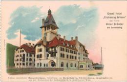 Carte Postale Ancienne D´AUTRICHE -GRAND HOTEL AM SEMMERING - Mödling