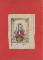 Image Religieuse - Image Pieuse Ancienne - Holycard - Santino - 6,2 Cm  X  8,2 Cm - Devotieprenten