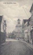 NETHERLANDS - OUDE KERKSTRAAT - SLUIS - STREET VIEW 1924 - Pays-Bas
