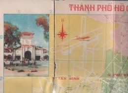 VIETNAM - PLAN DE VILLE - THANH PHO HO CHI MINH - Cartes Géographiques