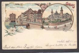 6963-GRUSS AUS ZURICH-1902-FP - Souvenir De...
