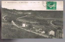 NEUFCHATEAU . La Route D'Epinal -- Les Crans . - Neufchateau
