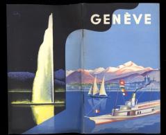 Livret Touristique GENEVE 42 Pages + Plan Dépliant  Photos / Adresses Commerces Restaurants Hôtels / - Reiseprospekte