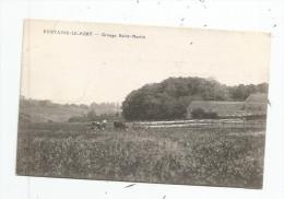 Cp , 77 , FONTAINE LE PORT , Grange SAINT MARTIN , Vierge - Andere Gemeenten