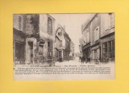 * CPA..dépt 89..NOYERS Sur SEREIN  :  Rue Franche - Vieilles Maisons :  Voir Les 2 Scans - Noyers Sur Serein