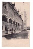 18 Chateau De La Verrerie Par Oizon La Galerie Carte RARE Cachet 1904 - Other Municipalities